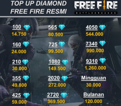 Beli Diamond FF Termurah Diskon